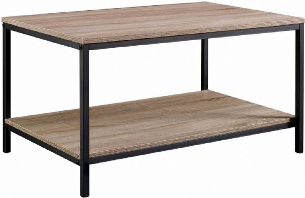TEKNIK  INDUSTRIAL STYLE Coffee Table With Black Metal Frame